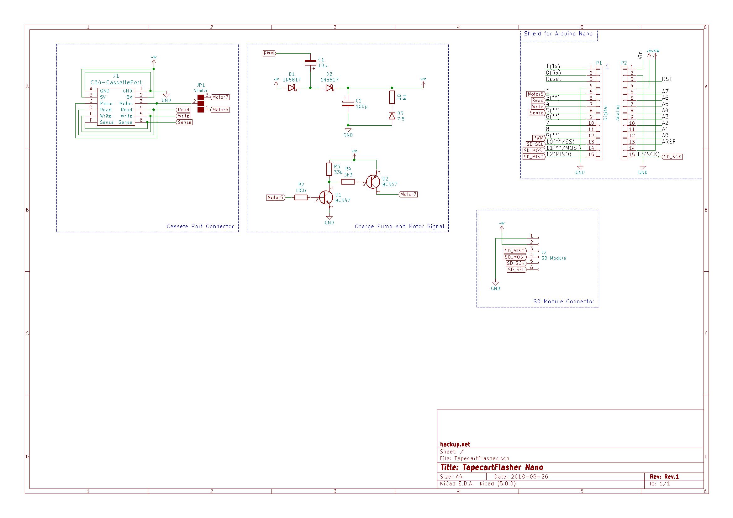 TapecartFlasher-Rev1-Schematics