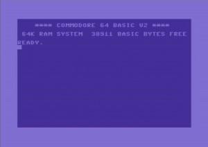 C64 start screen