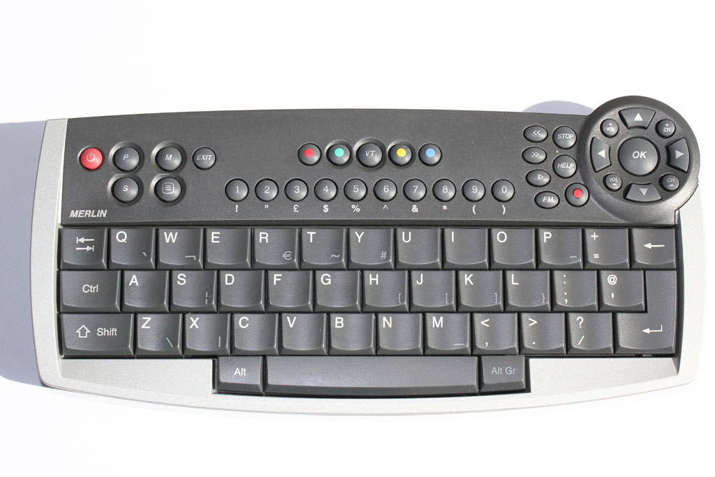 Ruwido Merlin Keyboard