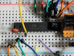ATmega88 using internal clock